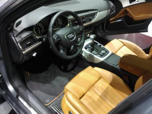 Audi Hybrid interiors