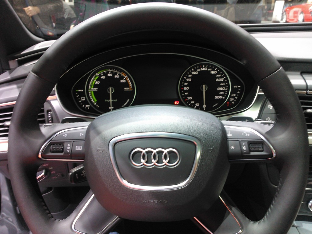 Audi Hybrid Interior