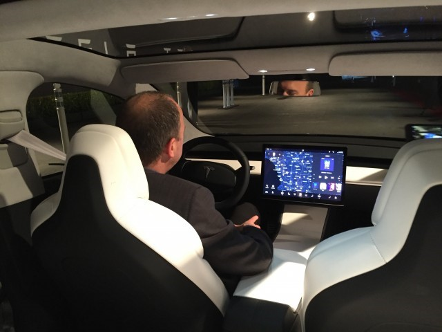 Tesla model 3 e move for Tesla model 3 interieur